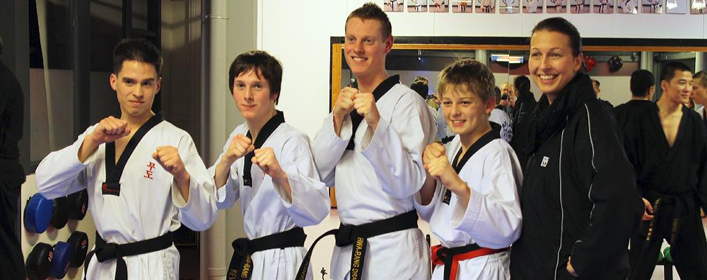HwaRang Dragon New Black Belts