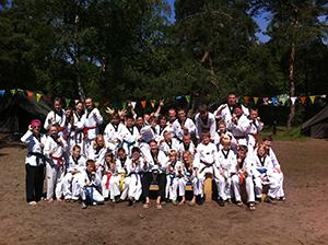 Taekwondo Kamp Kids 2014.1