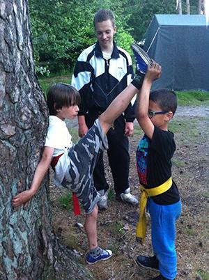Taekwondo Kamp Kids 2014.3