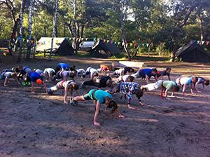 Taekwondo Kamp Kids 2014.4